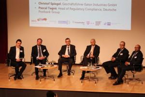 Podiumsdiskussion zum Bonner Dialog für Cybersicherheit