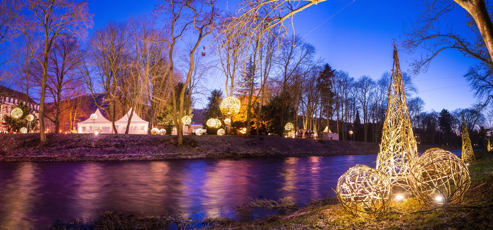 Uferlichter in BadNeuenahr-Ahrweiler, Fotograph: Dominik Ketz